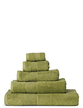 Luxury Egyptian Cotton Towel, SOFT GREEN, catlanding