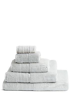 Luxury Egyptian Cotton Towel, PEARL GREY, catlanding