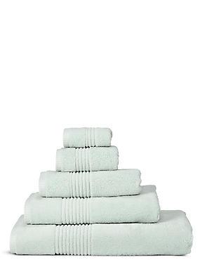 Luxury Egyptian Cotton Towel, PALE MINT, catlanding