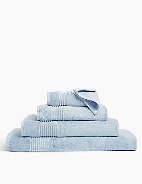 Luxury Egyptian Cotton Towel, CHAMBRAY, catlanding