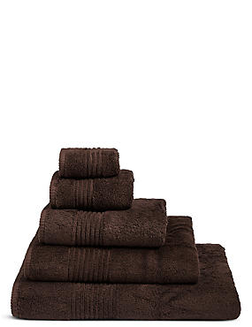 Luxury Egyptian Cotton Towel, CHOCOLATE, catlanding