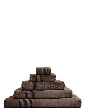 Luxury Egyptian Cotton Towel, BITTER CHOCOLATE, catlanding