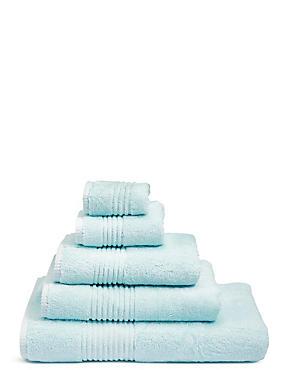 Luxury Egyptian Cotton Towel, LIGHT DUCK EGG, catlanding