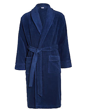 Pure Egyptian Cotton Unisex Dressing Gown