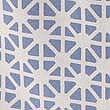 Coastal Geometric Print Laundry Bag, BLUE MIX, swatch