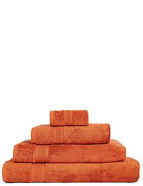 Super Soft Pure Cotton Towel, CINNAMON, catlanding