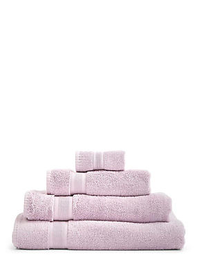 Super Soft Pure Cotton Towel, LILAC, catlanding