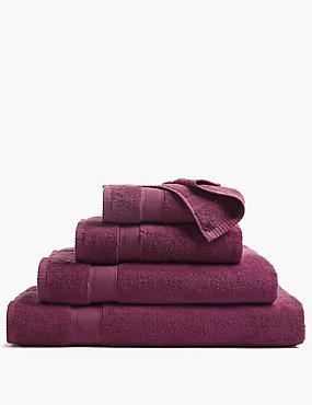 Super Soft Pure Cotton Towel, DARK CRIMSON, catlanding
