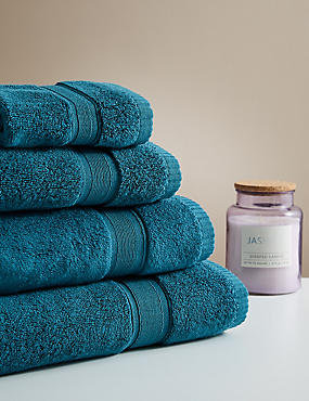 Super Soft Pure Cotton Towel, DARK GREEN, catlanding