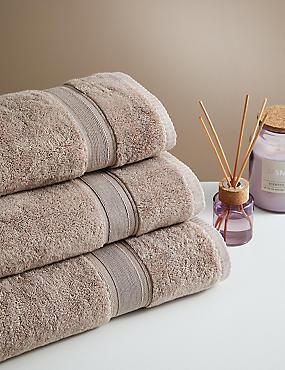 Super Soft Pure Cotton Towel, CAPPUCCINO, catlanding