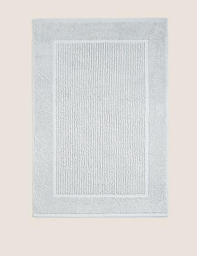 Lightweight Cotton Bath Mat