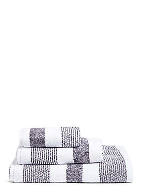 Hadley Striped Towels