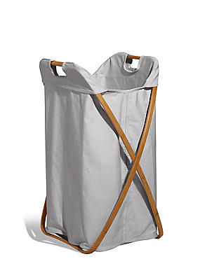 Laundry Bin, GREY, catlanding