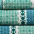 Multi Tile Towel, JADE MIX, swatch