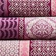 Multi Tile Towel, ROSE MIX, swatch
