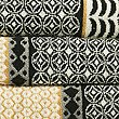 Multi Tile Towel, NATURAL MIX, swatch