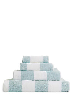 Wide Striped Towel