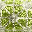 Geometric Print Star Towel, LIME, swatch