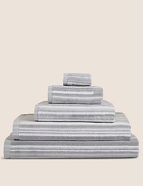 Skinny Stripe Towel, GREY MIX, catlanding