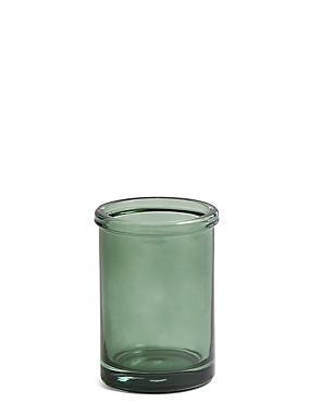 Glass Tumbler, GREEN, catlanding