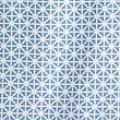 Coastal Geometric Shower Curtains, BLUE MIX, swatch