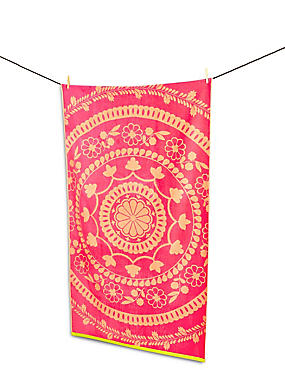 Frida Lace Beach Towel