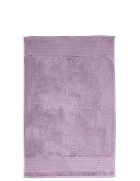 Luxury Egyptian Cotton Bath Mat, LAVENDER, catlanding