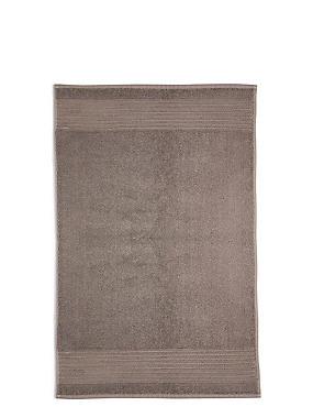 Luxury Egyptian Cotton Bath Mat, WALNUT, catlanding
