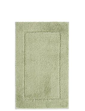 Quick Dry Bath & Pedestal Mats, PISTACHIO, catlanding
