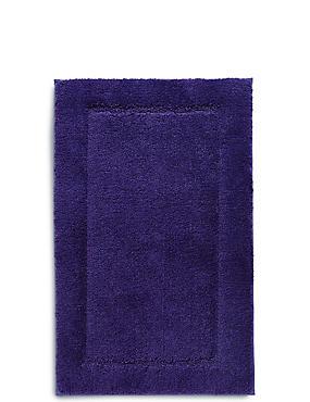 Quick Dry Bath & Pedestal Mats, PURPLE, catlanding