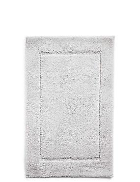 Quick Dry Bath & Pedestal Mats, PEARL GREY, catlanding