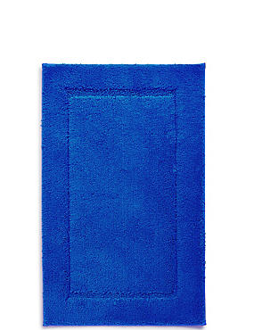 Quick Dry Bath & Pedestal Mats, ROYAL BLUE, catlanding
