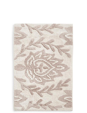 Decorative Floral Bath & Pedestal Mats