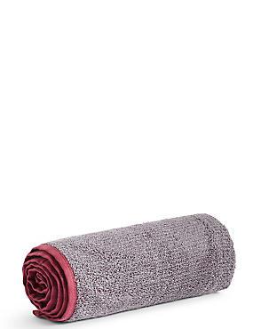 Small Gym Towel, BURGUNDY MIX, catlanding