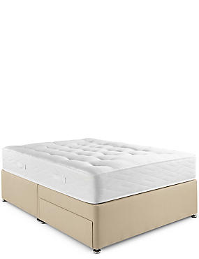 Natural 1050 Mattress & Divan Set