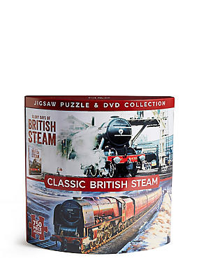 Classic British Steam DVD & Puzzle Collection