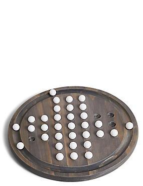 Wooden Solitaire Game, , catlanding