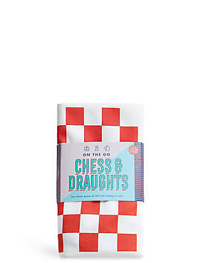 Travel Chess & Draughts Game, , catlanding