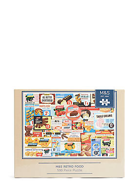 Retro Food 500 Piece Puzzle, , catlanding