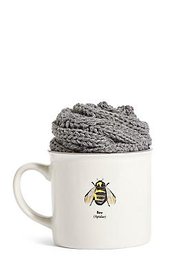 Mug & Sock Bee Design, , catlanding