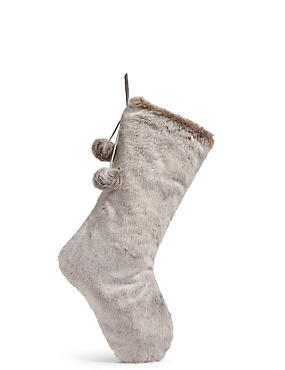 Luxury Faux Fur Stocking