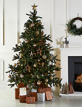 7Ft Lit Noble Fir Tree, , catlanding