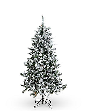 6Ft Snowy Christmas Tree
