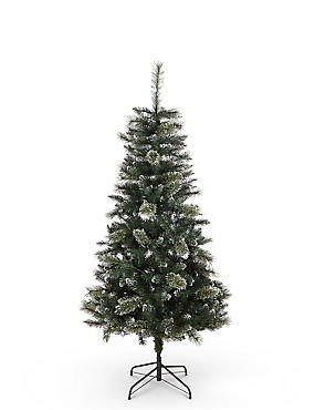 6Ft Crystal Lit Tree