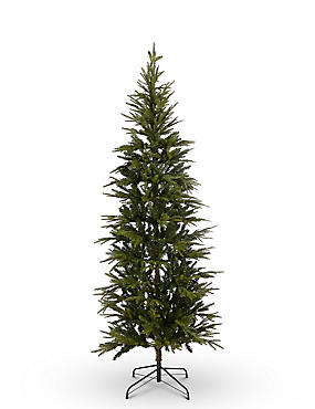 7Ft Fraser Fir Slim Lit Tree