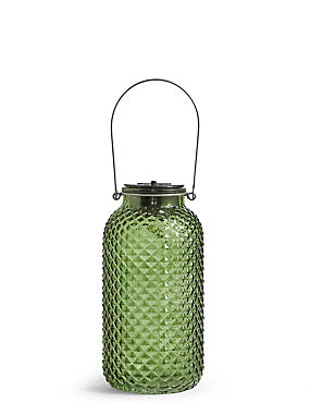 Large Green Solar Light, , catlanding