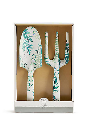 Hand Trowel & Fork Set, , catlanding