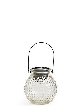 Small Clear Solar Jar Light, , catlanding