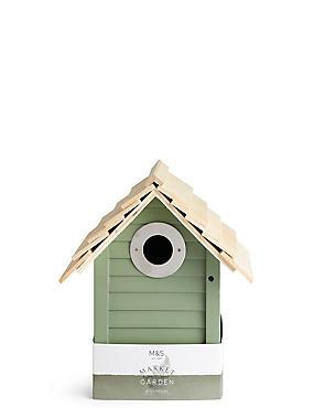 Green Birdhouse, , catlanding