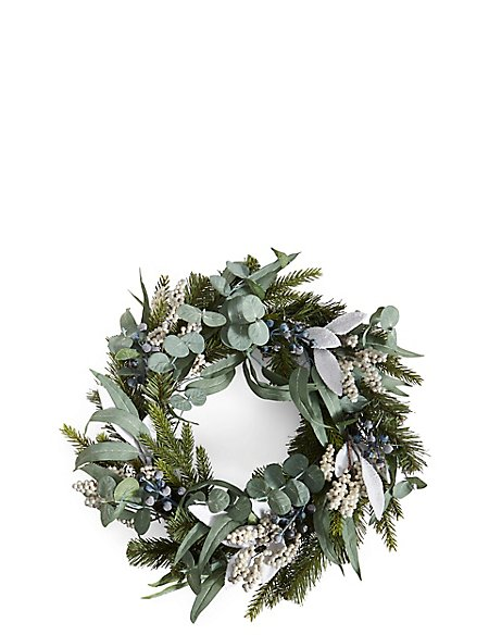 Grey Berry Wreath